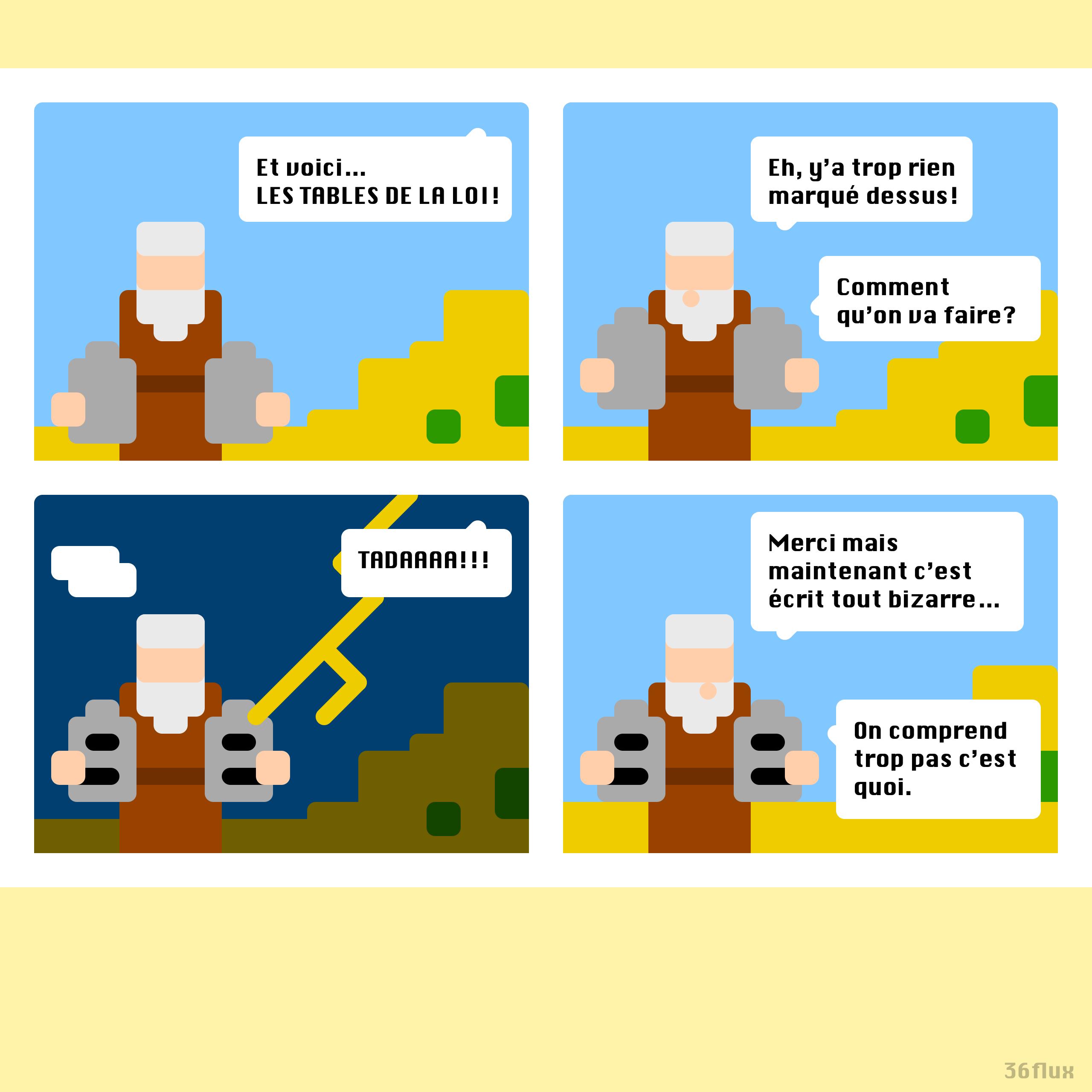 pixelart commandements