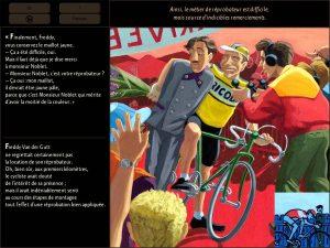 Le Réprobateur, la fiction numérique