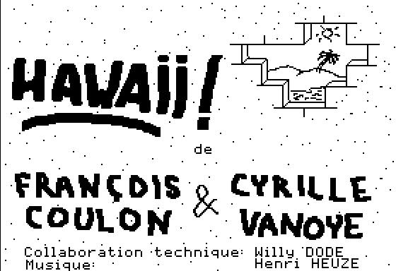 Hawaii pour Apple II